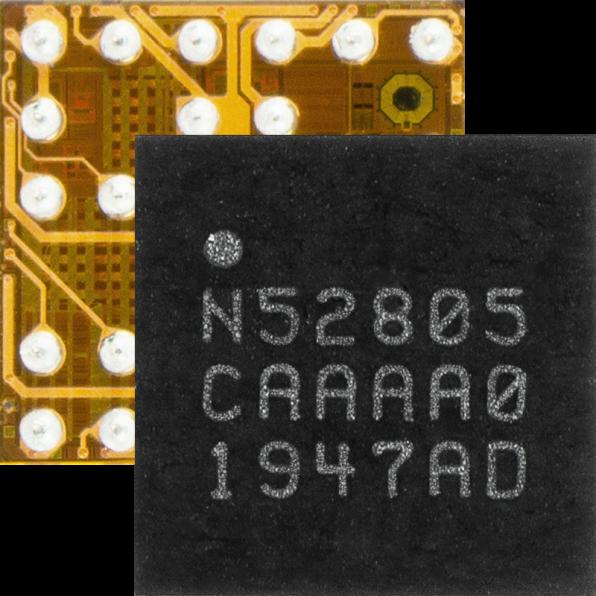 为小型两层PCB设计节省成本:儒卓力提供Nordic 蓝牙5.2 SoC