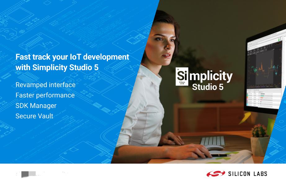 Silicon Labs以Simplicity Studio 5简化物联网开发