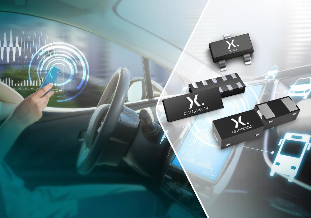 Nexperia全新车用TrEOS ESD保护器件兼具高信号完整性、低钳位电压和高浪涌抗扰度