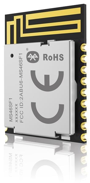 低功耗蓝牙/蓝牙5.2模块为成本和空间受限的无线产品提供功能强大的连接解决方案