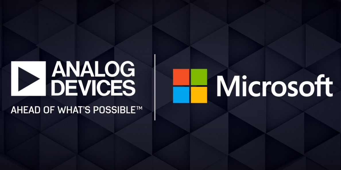 ADI與Microsoft合作以批量生產先進的3D成像產品和解決方案