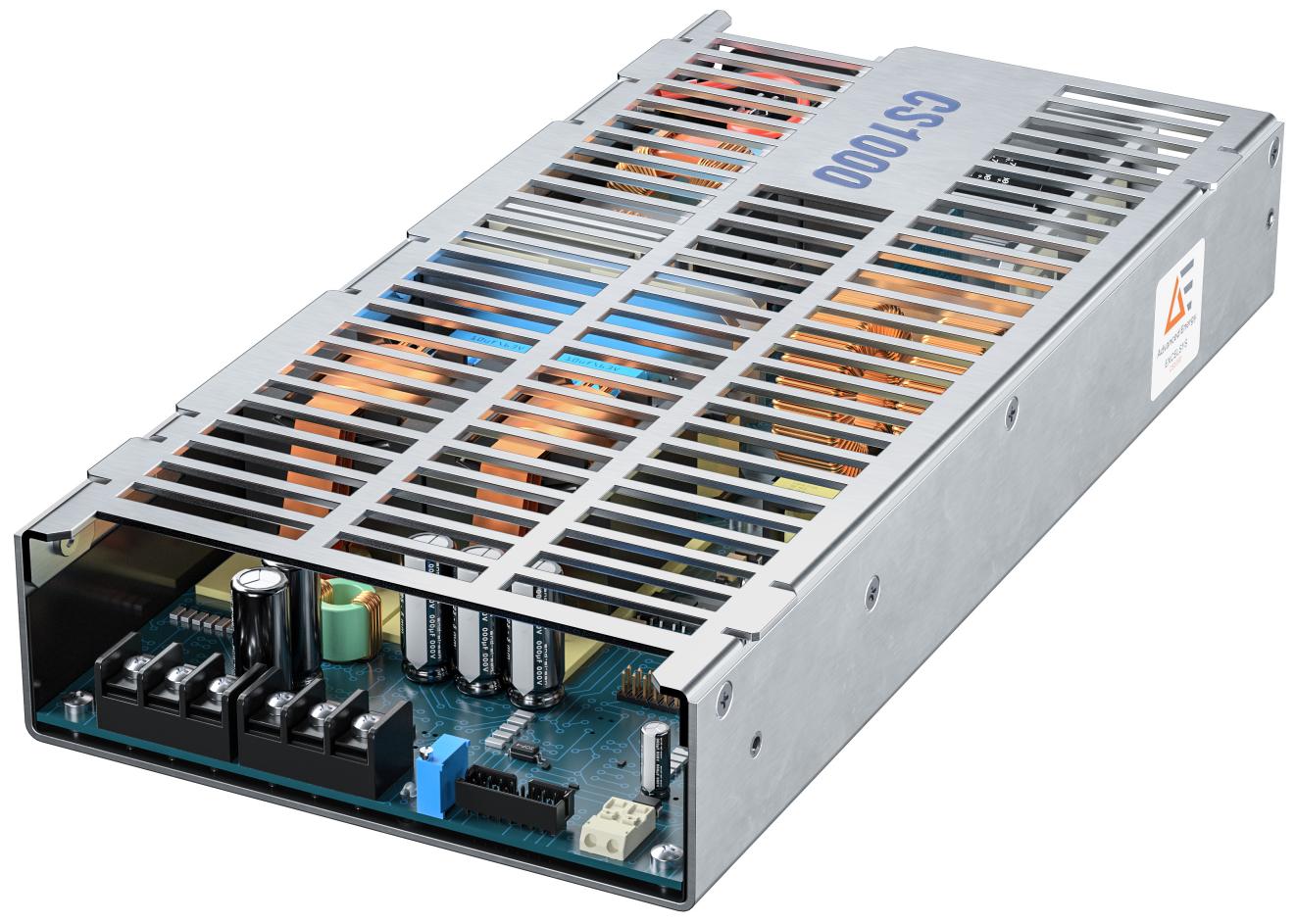 Advanced Energy 推出一系列输出功率极高但封装小巧并利用对流空气散热的创新性无风扇电源