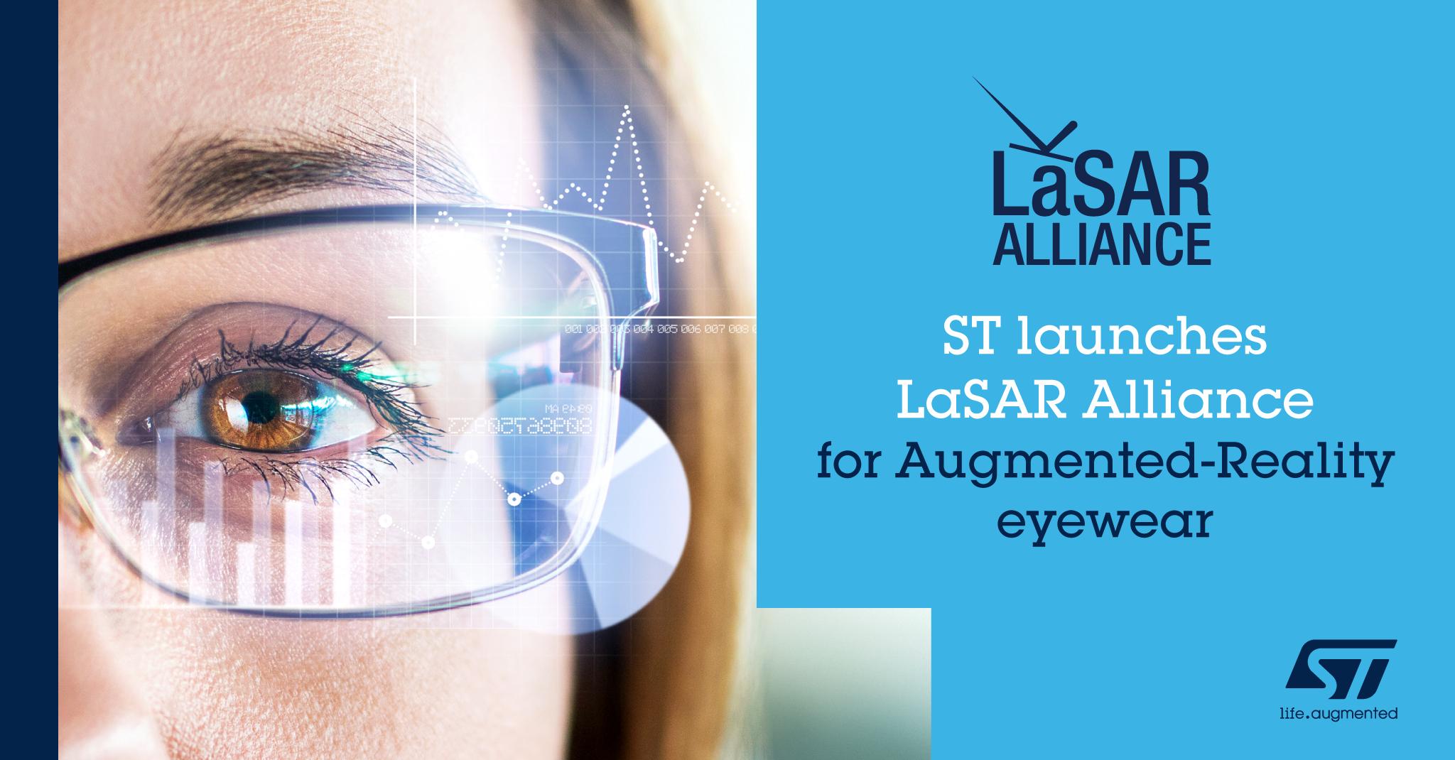 ST新闻稿2020年10月16日——意法半导体发起LaSAR生态联盟,加快AR眼镜应用开发.png