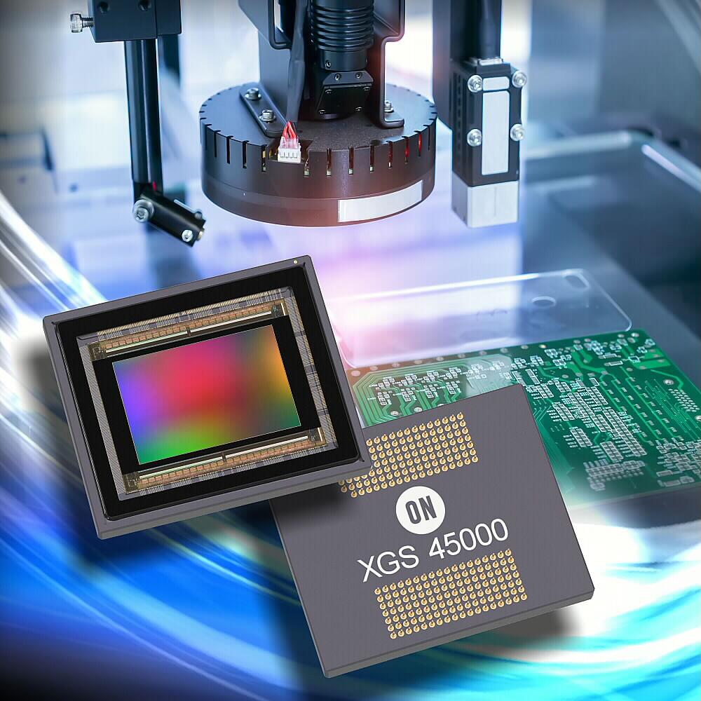 新型XGS CMOS图像传感器增强安森美半导体的高分辨率工业成像阵容