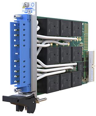 Pickering Interfaces推出交流或直流大电流负载开关模块仅占用一个PXI槽位