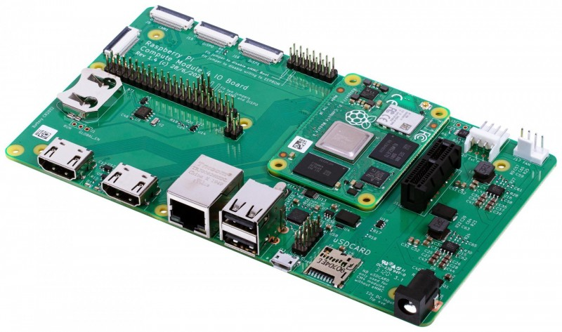 e络盟供货全新Raspberry Pi计算模块4