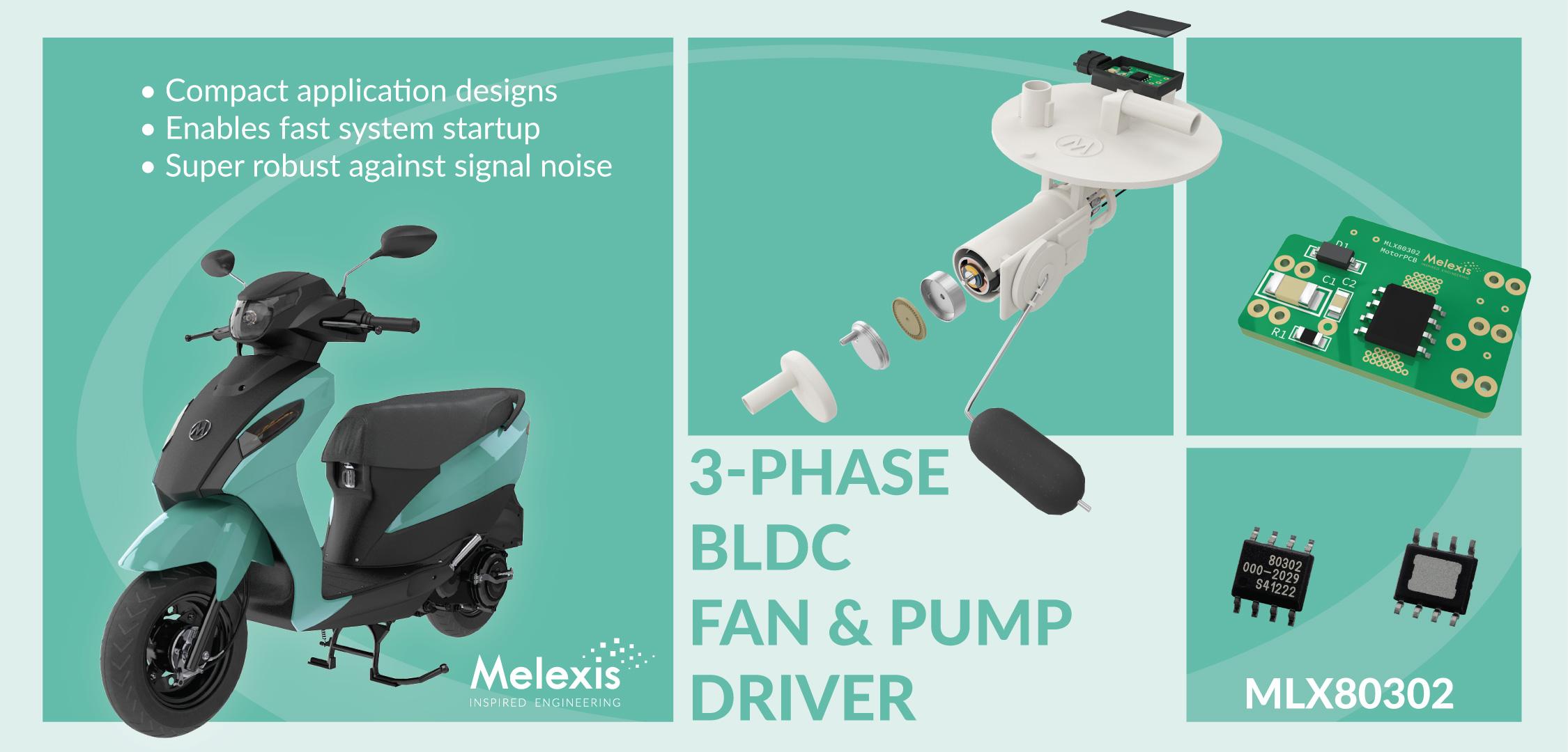 MLX 80302 帮助厂商应对严苛的环境标准