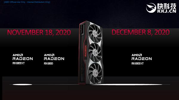AMD RX 6800/6900系列正式发布:竟然掀翻RTX 3090还便宜4000!