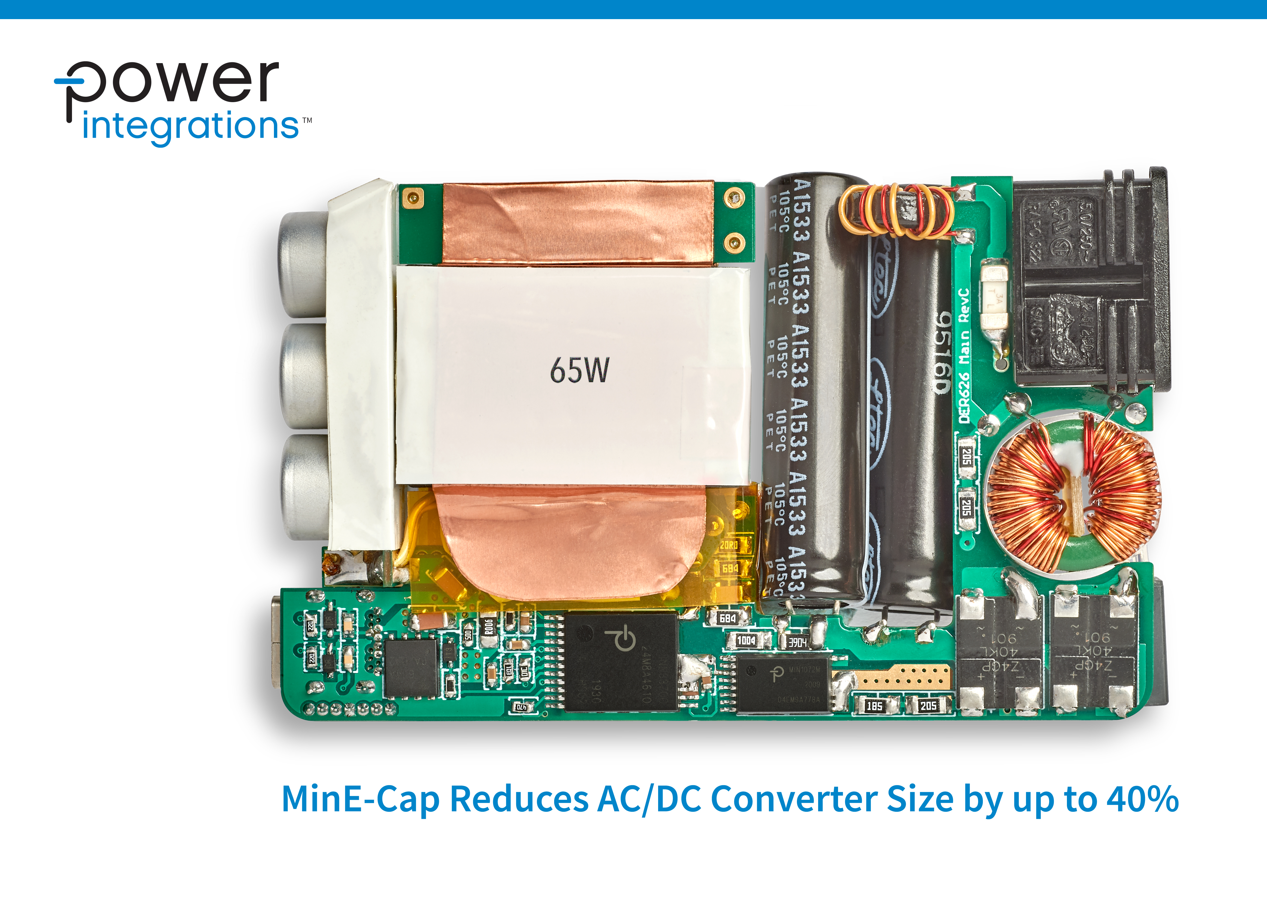 Power Integrations推出全新MinE-CAP IC