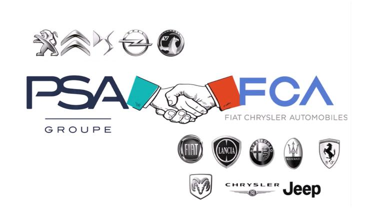 若 Fiat Chrysler 和 PSA 集团的合并被批准,新企业 Stellantis 将成为世界第四大汽车制造商