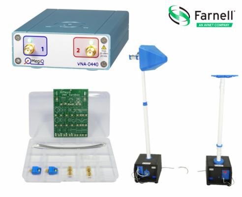e络盟供应MegiQ高品质射频和微波开发工具