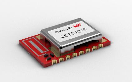 伍尔特电子发布无线电模块-Proteus-III和Thyone-I 安全的工业无线电应用