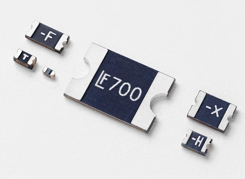 Littelfuse扩展PolySwitch低Rho SMD系列,为现有产品组合增加了23个新等级