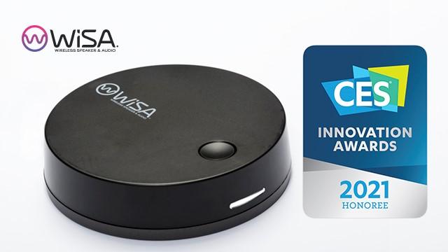 WiSA SoundSend斩获CES 2021创新奖