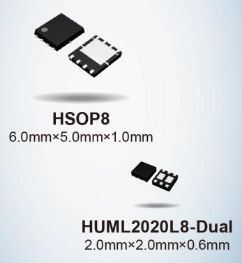 ROHM开发出实现超低导通电阻的第五代Pch MOSFET