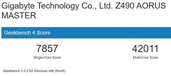 Intel 11代酷睿i7-11700K首次现身:加速5GHz、单核性能大涨26%