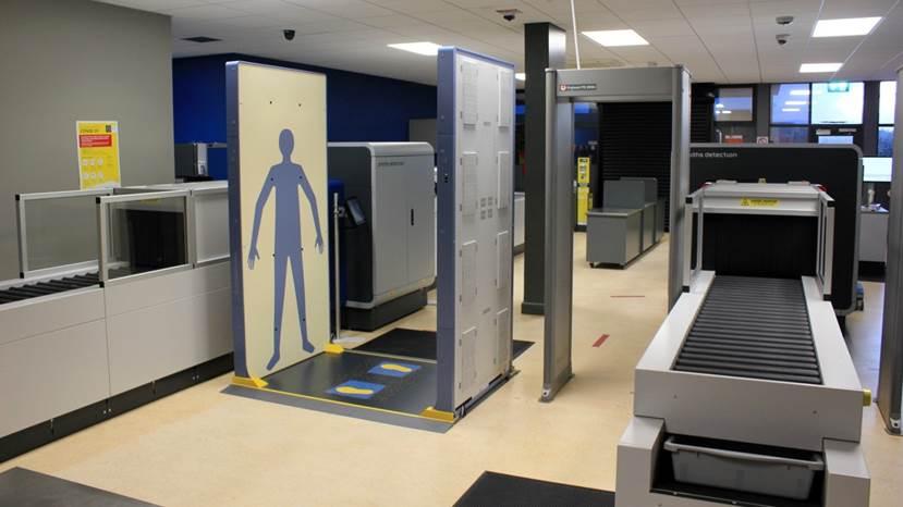 罗德与施瓦茨在爱尔兰凯里郡机场安装首套快速人员安全扫描仪