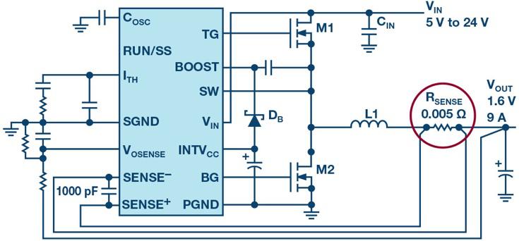 开关模式电源电流检测