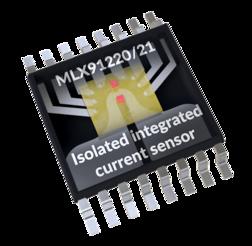 儒卓力提供Melexis MLX91220/21电流传感器