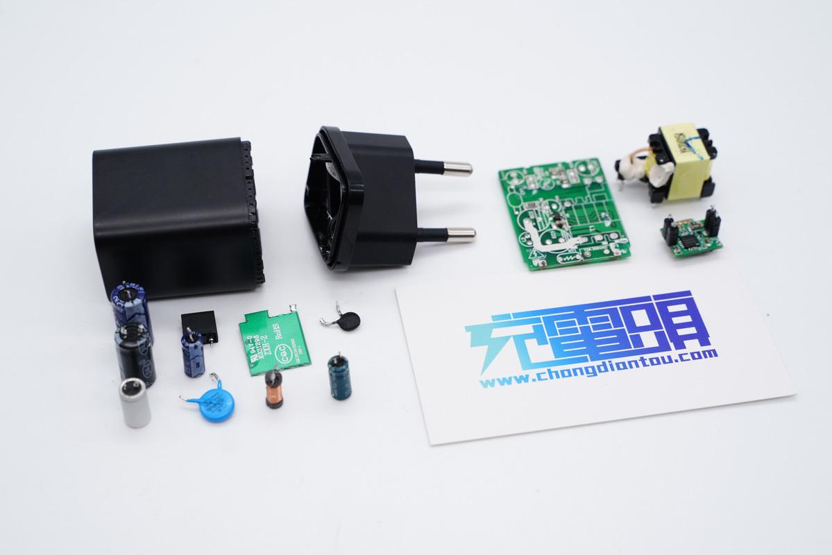 拆解報告:Baseus倍思20W Super Si超級硅充電器CCCJGCE-X-充電頭網
