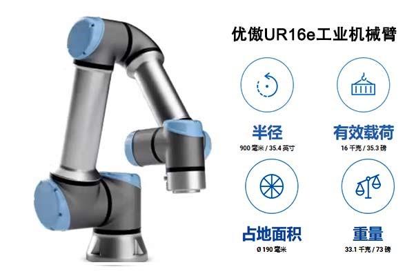 UR工业机器人机械手臂产品设计赋能自动化