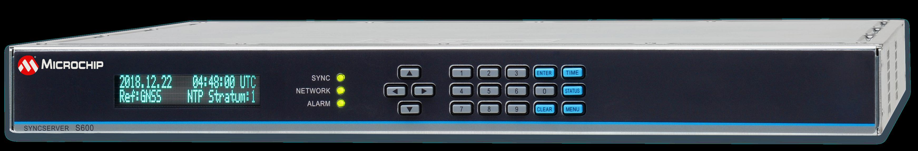Microchip推出可防止GPS干扰和欺骗的新版SyncServer S600系列 时间服务器