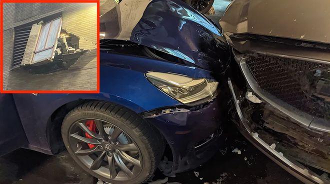 特斯拉被指司机辅助驾驶系统突然加速导致撞车