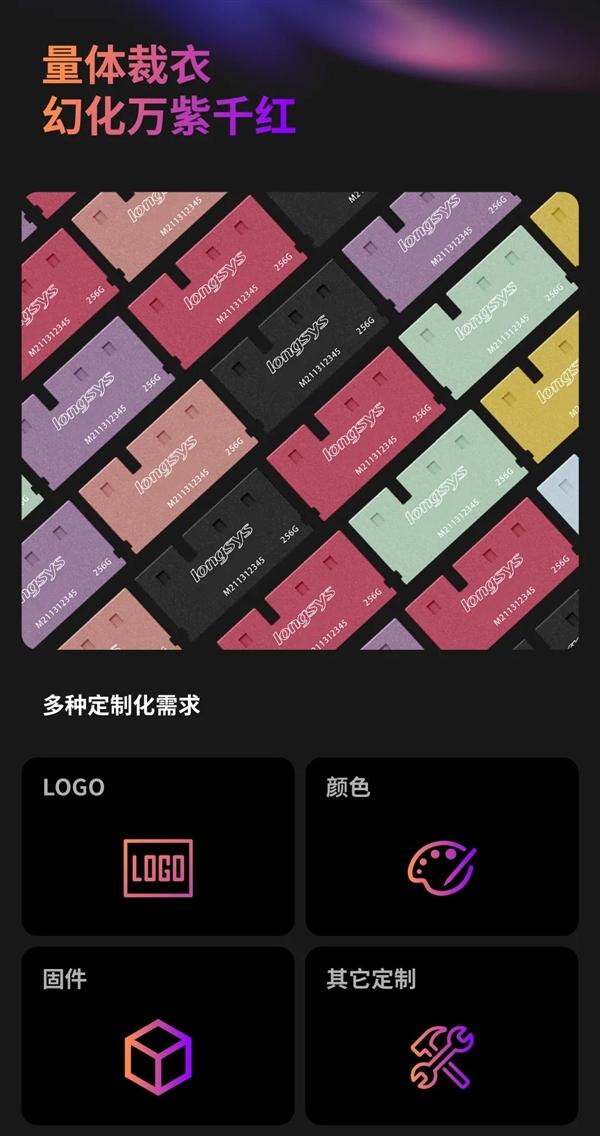 江波龙发布mini SDP超迷你SSD:重仅2克、最大1TB