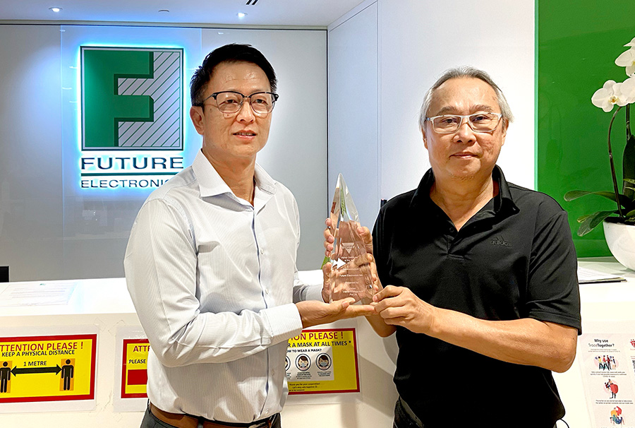 """富昌电子获得Vishay所授予的""""2020年度分销商""""奖项"""