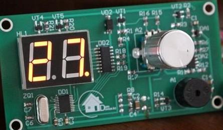 基于厨房定时器的设计应用过程