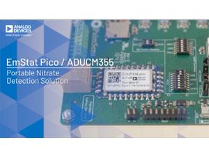 使用Emstat PICO的便携式硝酸盐检测解决方案