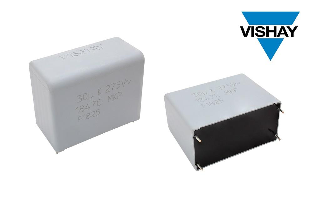 Vishay的新款交流濾波薄膜電容器可在高濕環境下持續穩定工作