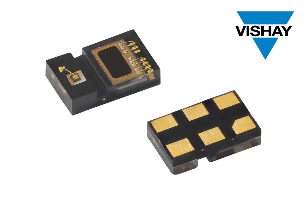 Vishay推出的超小型近传感器功耗仅为6.63 µA