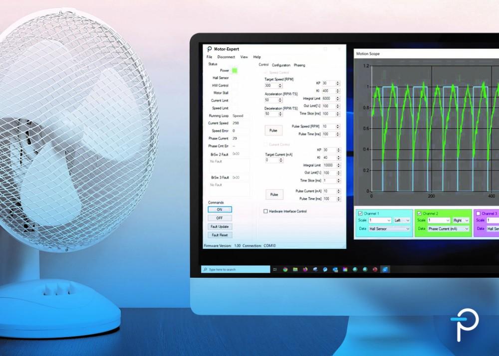 Power Integrations推出单相无刷直流电机精调控制软件