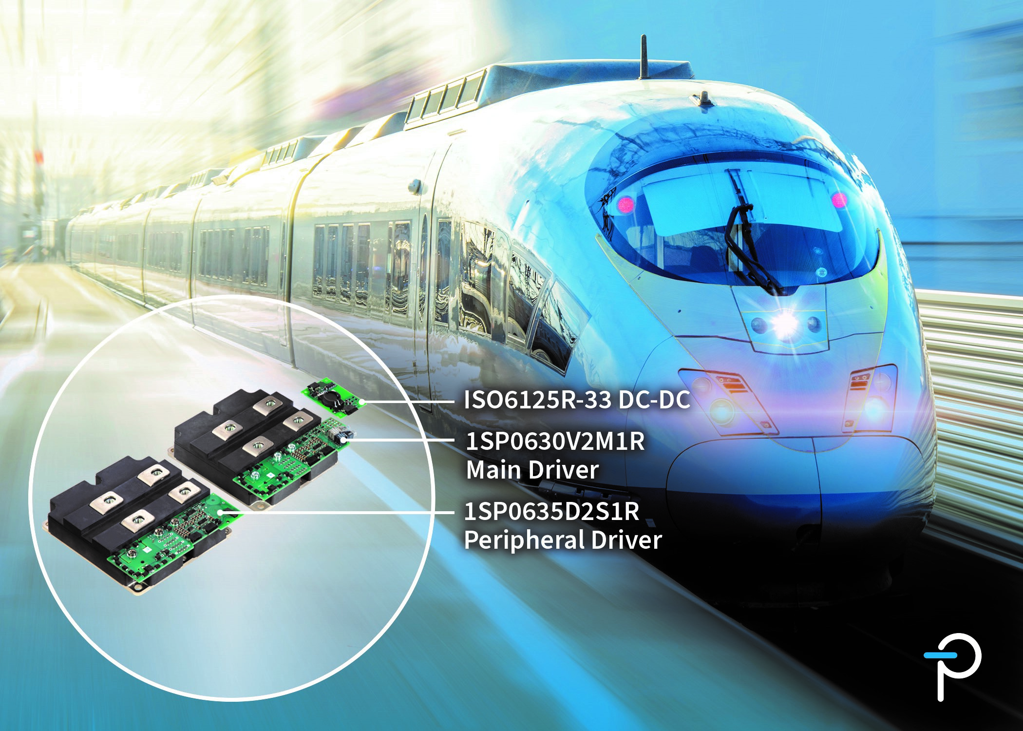 Power Integrations面向軌道交通應用推出新款外形緊湊、堅固耐用的SCALE-2即插即用型門極驅動器