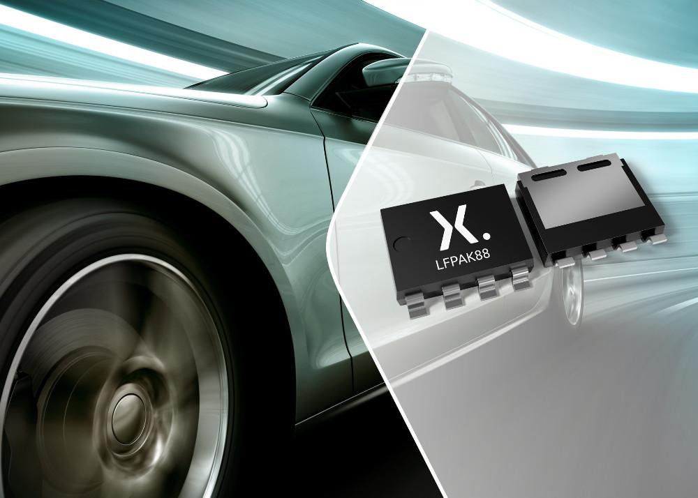Nexperia新型40 V低RDS(on) MOSFET助力汽車和工業應用實現更高功率密度