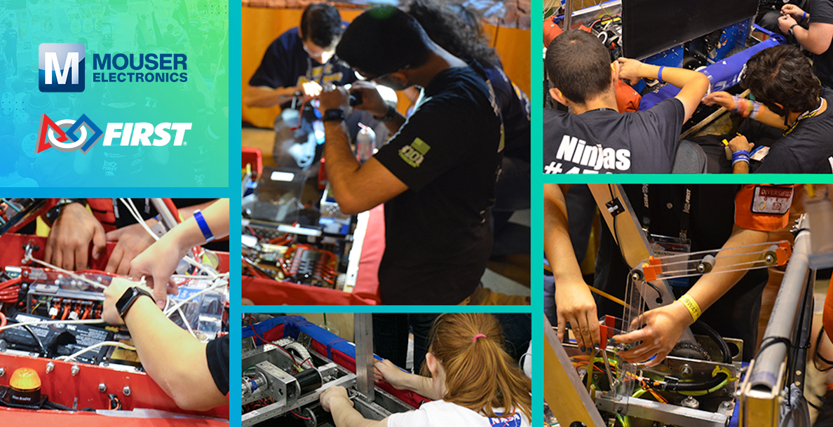 贸泽电子赞助面向青少年的FIRST 机器人竞赛