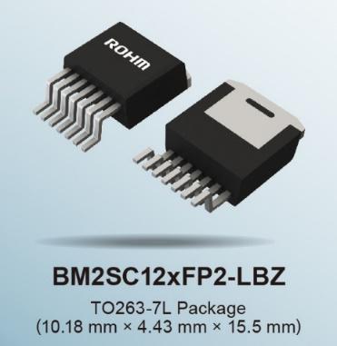 "ROHM推出內置1700V SiC MOSFET的小型表貼封裝AC/DC轉換器IC""BM2SC12xFP2-LBZ"""