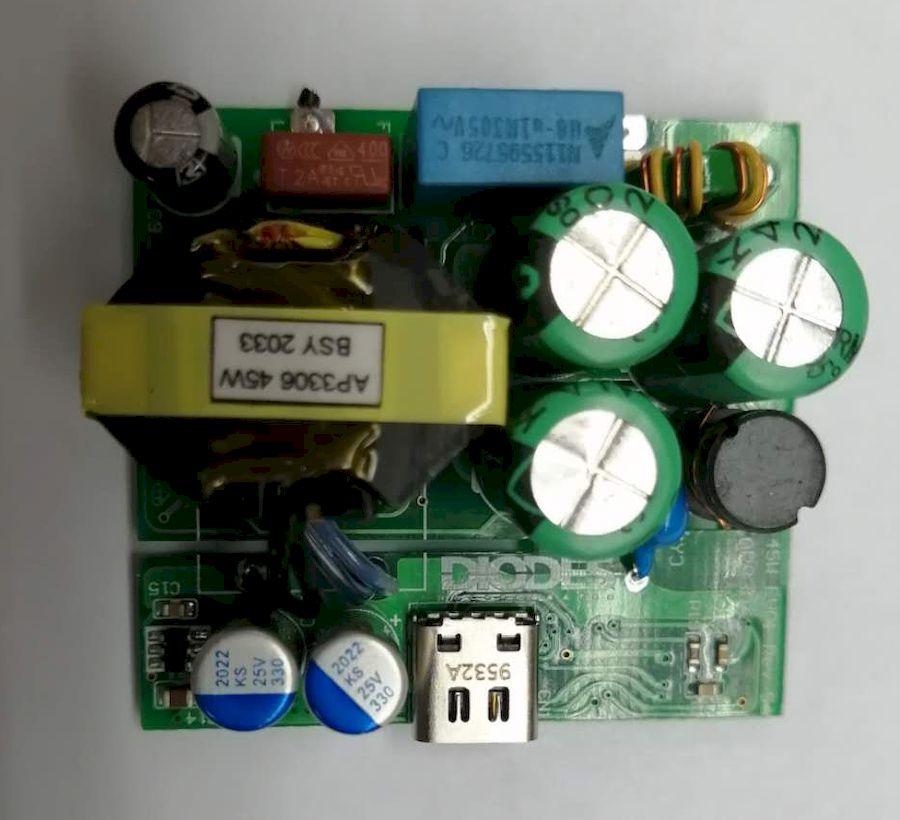 大聯大友尚集團推出基于Diodes產品的65W ACF Type-C PD3.0充電器方案