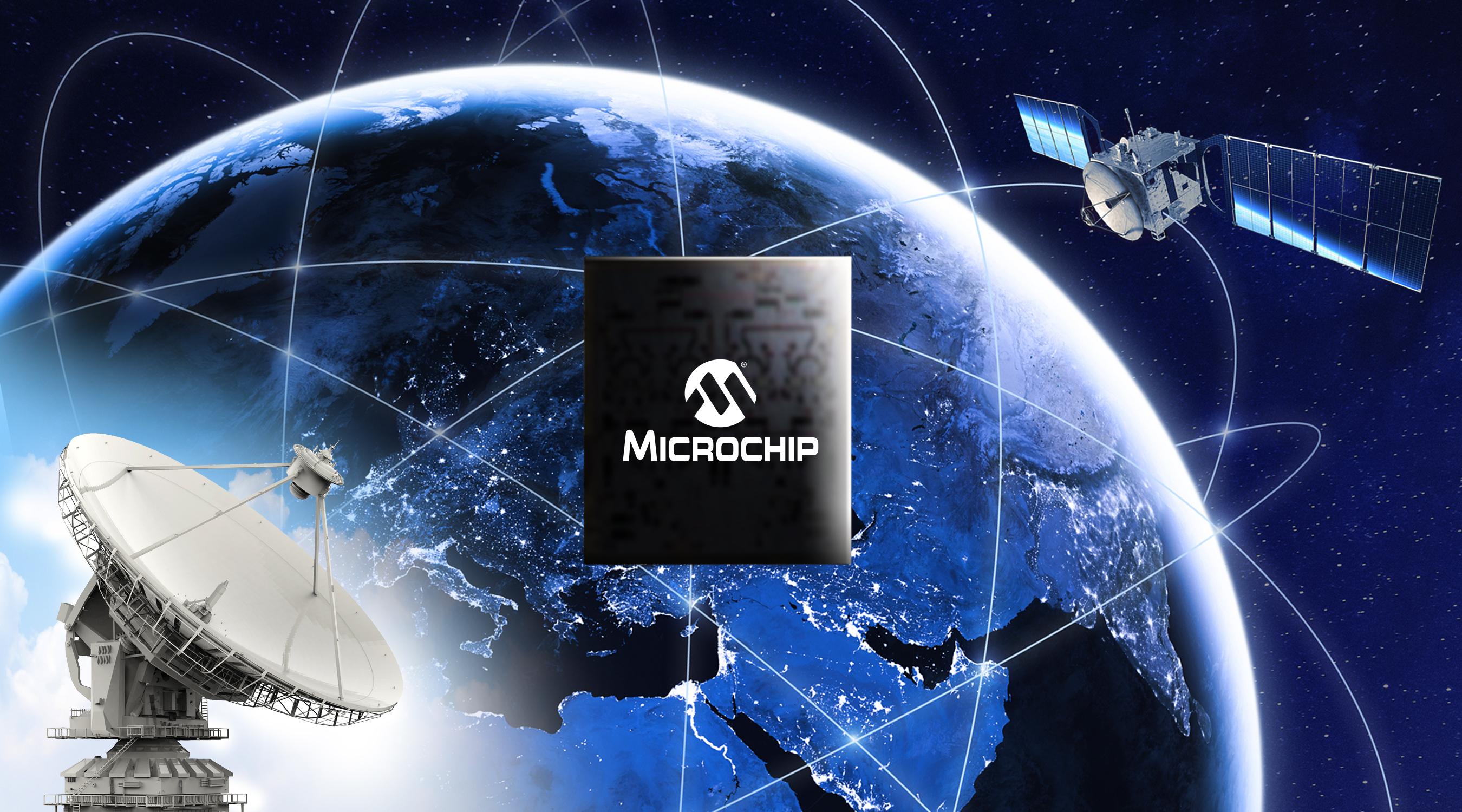 Microchip推出用于卫星通信终端的高线性度Ka波段单片微波集成电路(MMIC),进一步丰富氮化镓(GaN)射频产品组合
