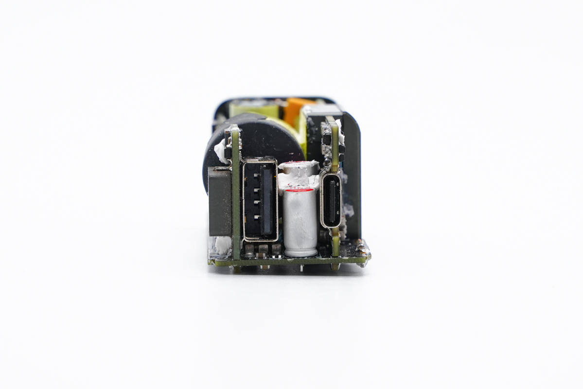 拆解報告:ZMI紫米65W 1A1C氮化鎵快充充電器HA729-充電頭網