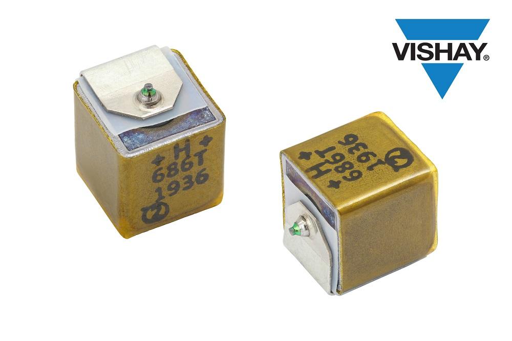 Vishay新型SMD HI-TMP液钽电容器可节省基板空间并提高可靠性