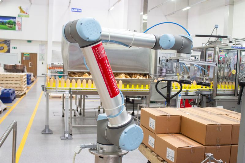 優傲機器人直擊碼垛痛點 利用協作自動化堆積利潤