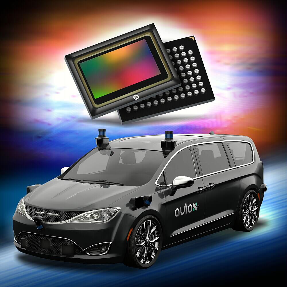 安森美半导体的智能感知技术赋能AutoX第5代无人驾驶系统的360度视觉