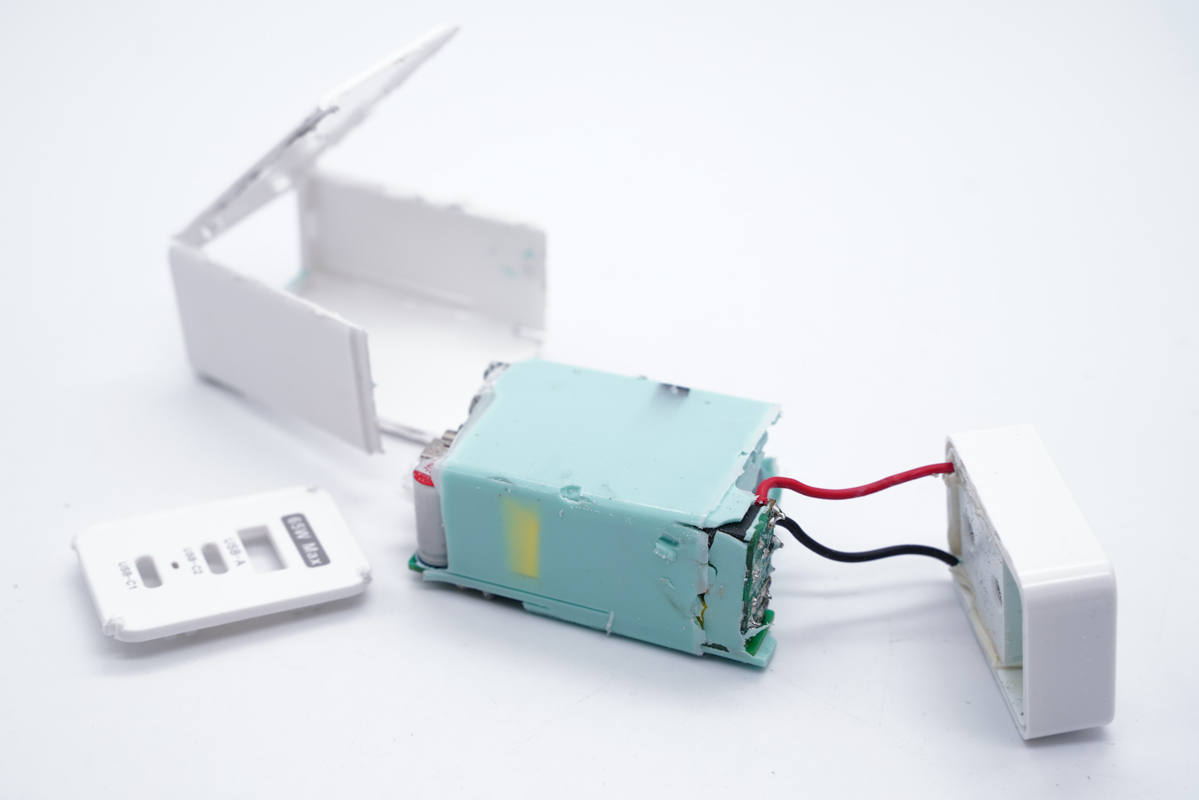 拆解报告:华科生65W 2C1A氮化镓快充充电器HPA-09N-充电头网