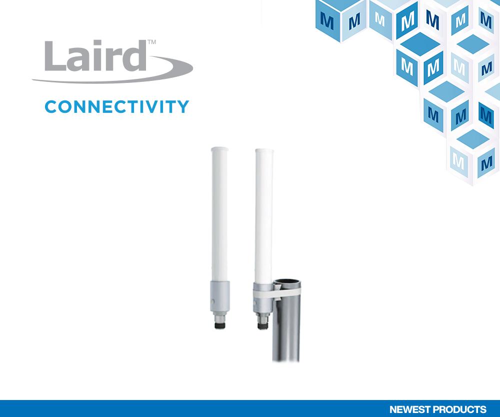 贸泽备货Laird Connectivity坚固型OC69421多频段全向天线为4G/5G基础设施应用添助力
