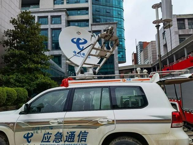 天通卫星系统车载天线