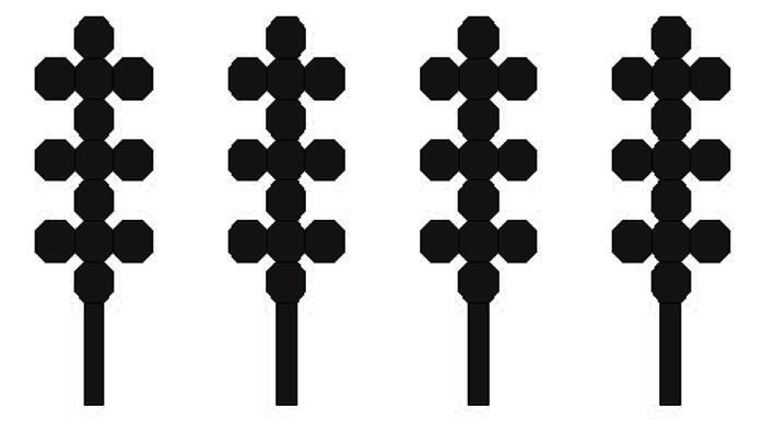 单极子阵列与缝隙阵列复合室内定位信标天线设计*