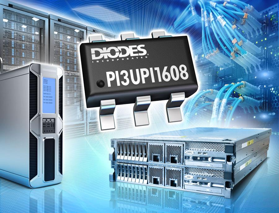 Diodes 公司推出具备内部耦合电容器的 8 通道 ReDriver,可提升高速 UPI 2.0 与 PCIe 4.0 接口的讯号质量