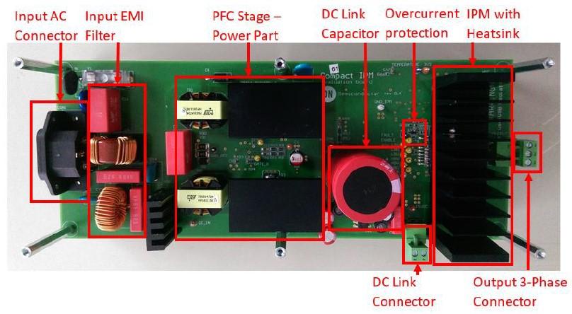 大联大世平集团推出基于ON Semiconductor NCP1632的电机驱动器方案